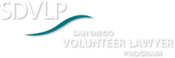 San Diego Volunteer Lawyer Program Logo